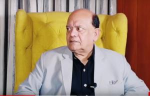 """Hasya Kavi Sammelan"" with Surendra Sharma on 16th December 2006 at Nehru Centre."